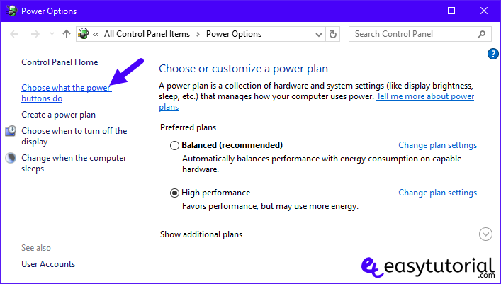 Windows 10 Tips Improve Productivity Tweaks Tricks 8 Choose What The Power Buttons Do