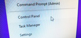 "How to Add Control Panel to ""Win+X"" Menu on Windows 10"