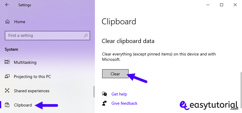 Clipboard History Windows 10 5 Clear Clipboard History
