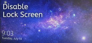 How to Disable the Lock Screen on Windows 10