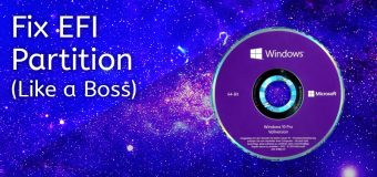 Fix Efi Uefi Partition Windows 10 Linux Bcd Boot Startup Easy Tutorial 340x160
