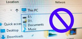 How to Remove Explorer Address Bar History on Windows 10