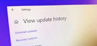 View Update History Windows 10 Easy Tutorial 340x160
