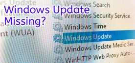 Windows Update Service (wuauserv) Missing? Here is the Solution