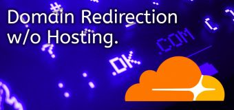 Domain Name Redirect Redirection Without Hosting Web Cloudflare Cpanel Dns Easy 340x160