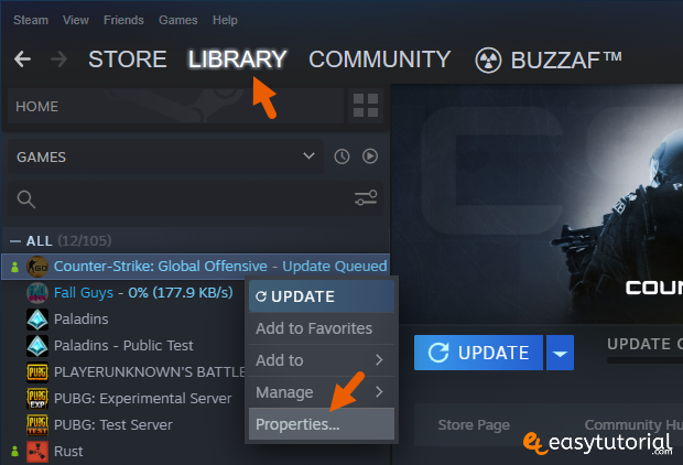 Fix Steam Missing File Privileges Windows 10 8 Library Game Properties