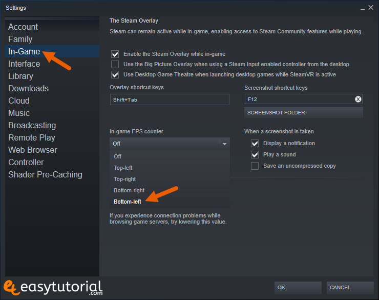 Steam Fps Counter Easy Tutorial 2